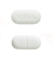 M365 White Oblong Pill